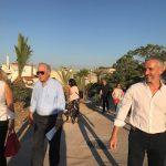 Περίπατος του Δημάρχου στα Ενετικά Τείχη-Αλλάζουν όψη και γίνονται προσιτά στους Ηρακλειώτες